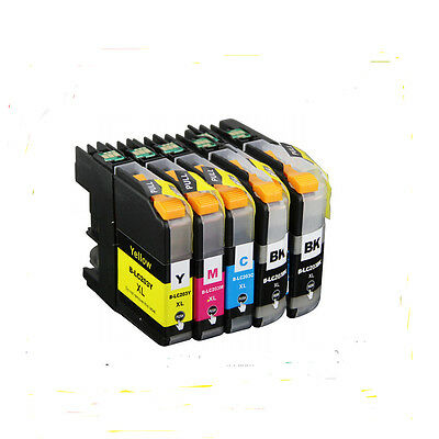 5PK  LC203XL LC201XL LC201 LC203 LC-203 INK for BROTHER LC-203 XL MFC-J4320DW