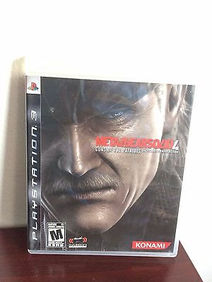 Metal Gear Solid 4: Guns of the Patriots ps3 game.