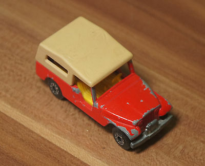 Modellauto Matchbox Superfast No.53 Jeep CJ6 England 1977 Lesney