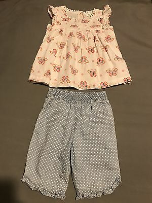 M&Co 18-24 Months Girls Clothes Outfit Matching Set