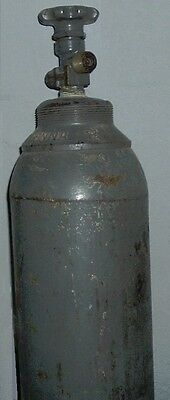 Vintage Large 55-Inch Heavy Duty CO2 Tank Cannister w-Valve - Pickup Only