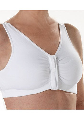 Front Fastening Magnetic Bra Disability Elderly Mobility Dressing Aid, White