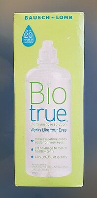 Bausch & Lomb Bio True Contact Lens Solution 300Ml + Free Postage