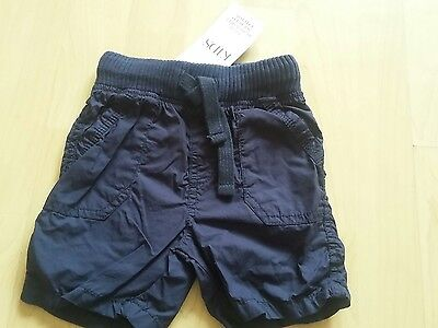 bnwt baby boys marks and spencers shorts 12-18 months m&s
