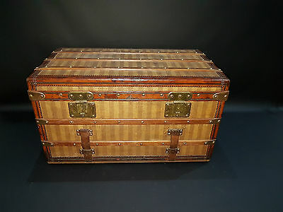One of a kind 1870s Louis Vuitton Rayee Trunk