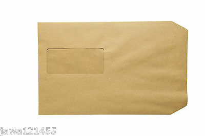 30 x C5 Envelope 100 GSM Window Manilla Self Seal Envelopes Premium Quality