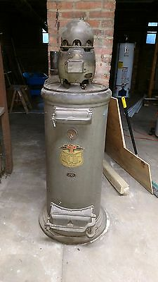 TUEC (The United Electric Company) Antique Whole House Stationary Vacuum Cleaner