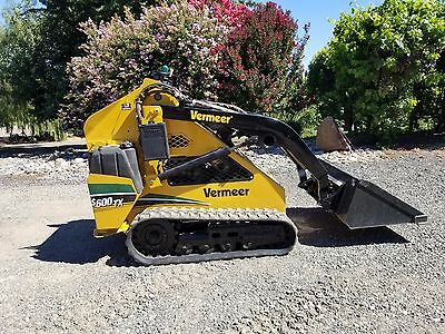 S600TX Vermeer Mini Skid Steer, New Undercarriage, Kubota Diesel