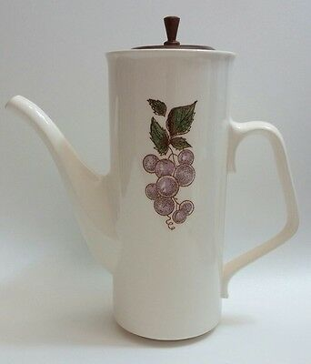 Taylor-Smith & Taylor Pitcher with Wooden Lid