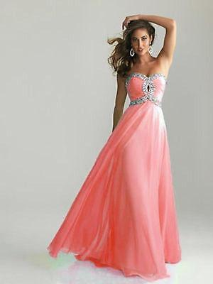 New Prom Evening Dress Long Bridesmaid Wedding Party Cocktail Dance Gown B871