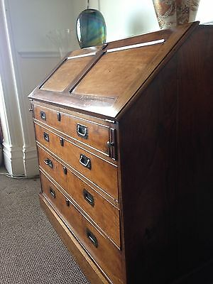 Antique Military campaign Bureau c1810