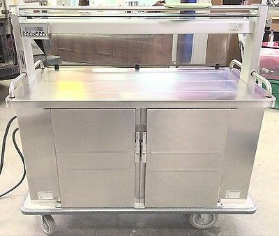 Burlodge 105 Series Multigen III Dual Oven Service Cart - Model BLM53.700.0171