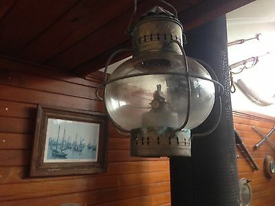Antique Life Boat lamp Tung Woo