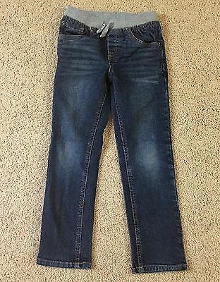 CAT & JACK Girls Blue Stretch Waist Jeggings Jeans Size 5T  Nice!