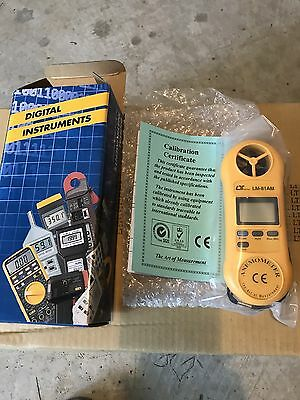 """""""Lot of 20 Brand New in the Box"""" LUTRON LM-81AM Mini Anemometer Air Meter/tester"""
