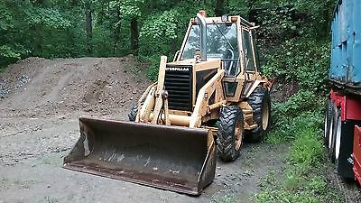 caterpillar 416 4x4 backhoe