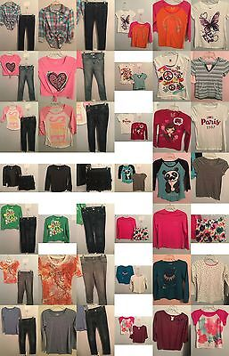 Girls Size 14, 14/16 Clothing, Justice Tops, Jeans, Skirts, Clothes, Outfits Lot