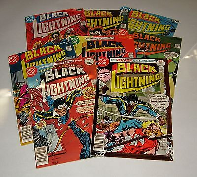 DC BLACK LIGHTNING No. 1, 2, 3, 4, 6, 8, 9, 11 (1977) VERY NICE LOT!