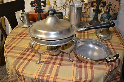 G.T. Sutterley & Co Chafing Tray Warmer Alcohol Burner Pat 1906