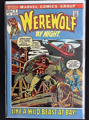 WEREWOLF BY NIGHT #2 Lot of 1 Marvel Comic Book!