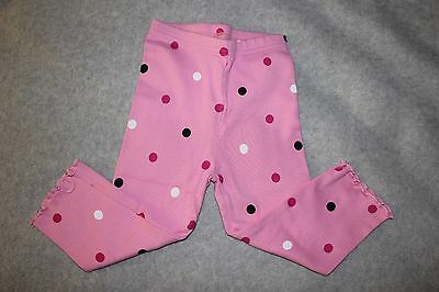 New Baby Girl Gymboree Wild One Polka Dot Leggings Pants 12 - 18 Mo