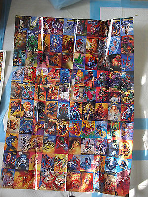 RARE Large 1994 Fleer Ultra Spiderman Card Promo Poster LOOK