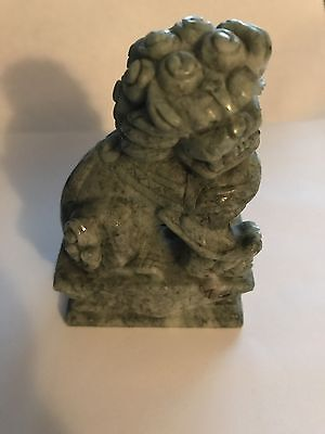 Jade Lion China Sculpture