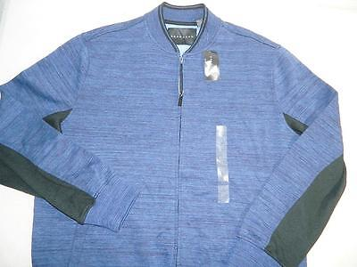 Sean John Men's Zipper Sweater Jacket Cotton Blue NWT Size XL