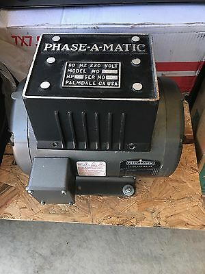 !!!new!!! Phase-A-Matic Rotary Phase Converter - Model R-5