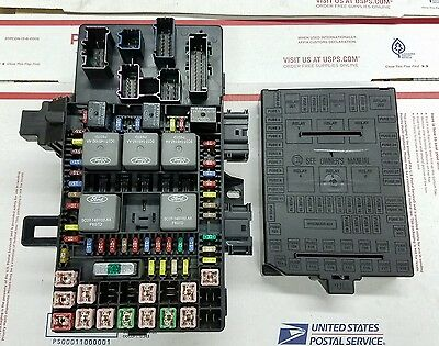 06 Ford Expedition Under Dash Fuse Juncton Relay Box 6L1T-14A067-AB 0715e9