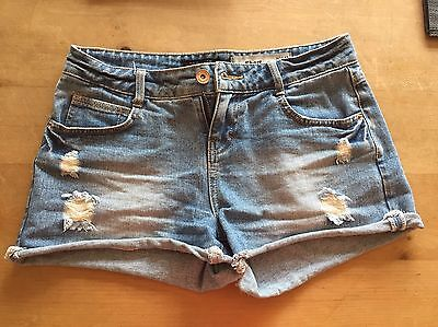 Pair Of Girls Denim Shorts From New Look Age 13