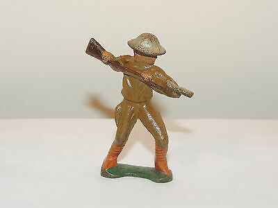 Cast Iron Soldier over 2 inches tall (12539)