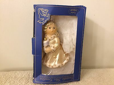 Vintage Goebel Christmas Angel Limited Edition Ornament