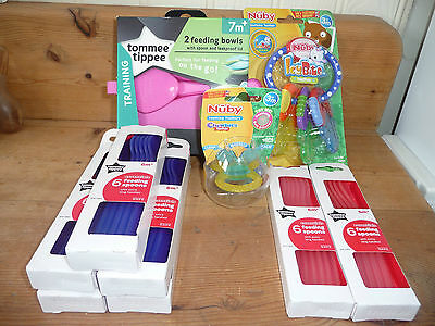 BABY FEEDING ITEMS, NEW see details