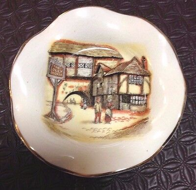 Sandland Ware, England Butter Dish Vintage Collectable Antique