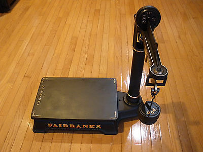 Antique FAIRBANKS PLATFORM SCALE - General Store - Industrial