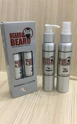 BEARD GROWTH AND Thickening Shampoo with Lotion Conditioner