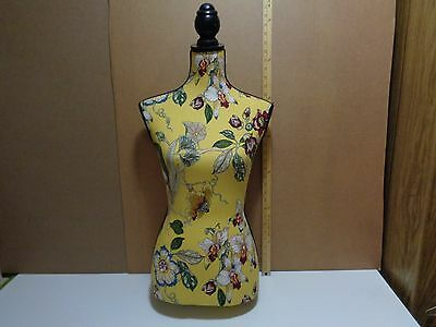 FREE SHIP Female Tailors Dummy Floral Dressmakers Fashion Mannequin Display Bust