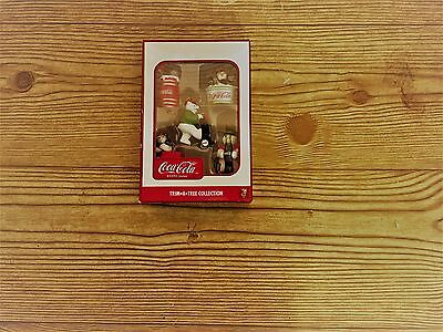 Coke Coca Cola Trim A Tree Miniature Christmas Ornaments NEW