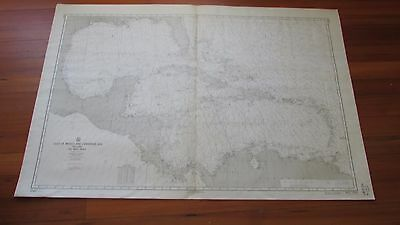 Nautical Chart of Gulf of Mexico and Caribbean
