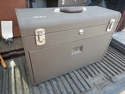 Kennedy 525A Toolbox With Keys Machinist Toolbox Tool Chest Storage