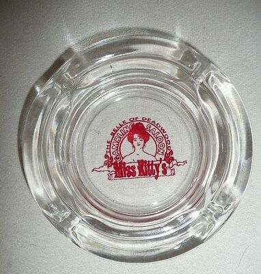 Rare Miss Kittys Deadwood - Gambling Hall Casino Ashtray