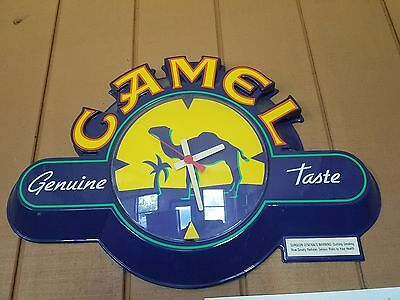 Camel cigarette clock (AA battery powered collectible).