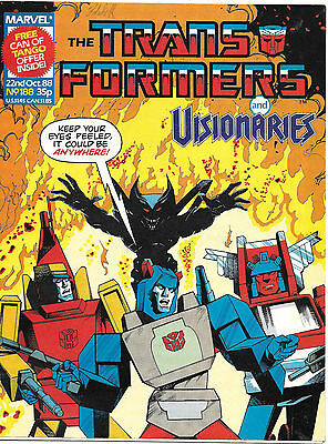 Transformers #188 (Marvel UK,  full colour throughout 28 pages) high grade