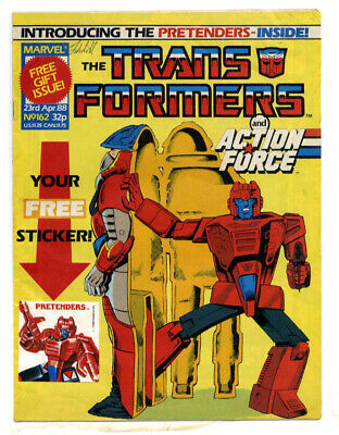Transformers #186 (Marvel UK,  full colour throughout 28 pages) top grade
