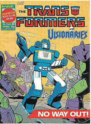 Transformers #185 (Marvel UK,  full colour throughout 28 pages) high grade