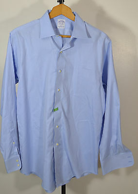 "Men's Brooks Brothers – ""15 ½ - 34"" - Long Sleeve – Button Front Shirt – Slim"