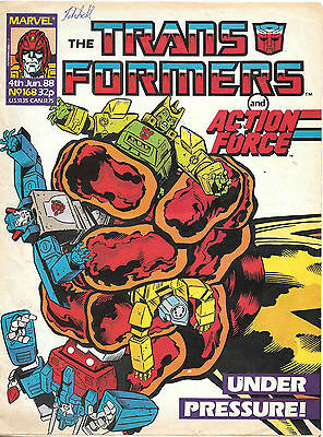 Transformers #168 (Marvel UK,  full colour throughout 28 pages) high grade