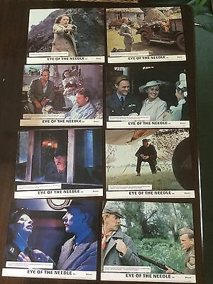 EYE OF THE NEEDLE 1981 Set Of 8 Lobby Cards Donald Sutherland
