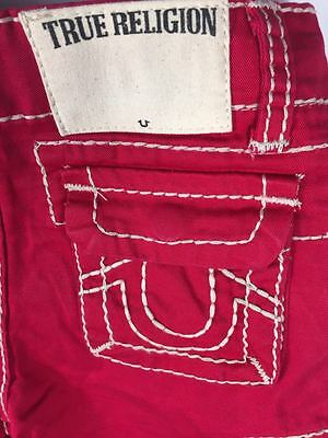 True Religion - Kids Boy Casual Red Short Jeans Sizes 2T to 10T